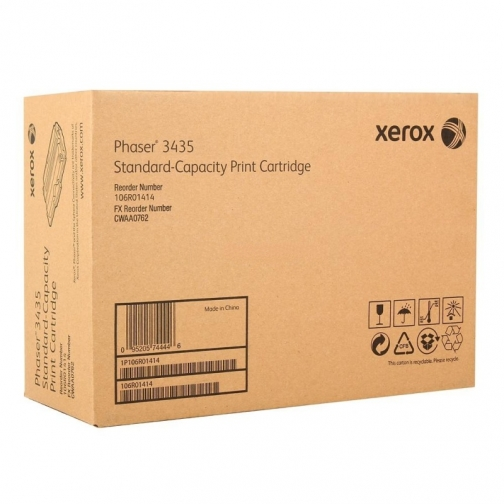 Оригинальный картридж Xerox 106R01414 для Xerox 3435MFP (черный, 4000 стр.) 1229-01 852125