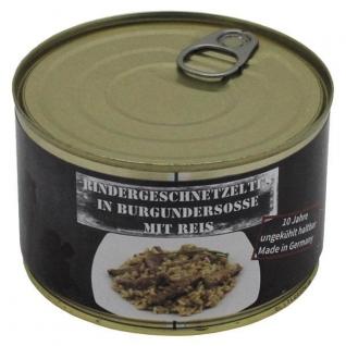 MFH Ломтики говядины в бургундском соусе с рисом MFH 400 г