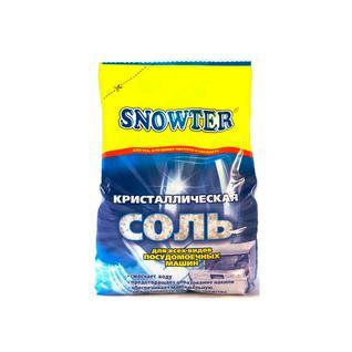 Соль для посудомоечных машин SNOWTER 1,5кг