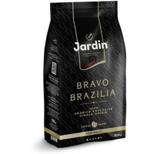 Кофе Jardin Bravo Brazilia в зернах, 1кг