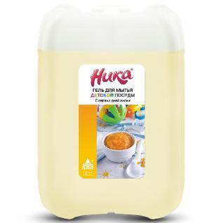 Средство для мытья посуды детской НИКА С первых дней жизни 5 кг