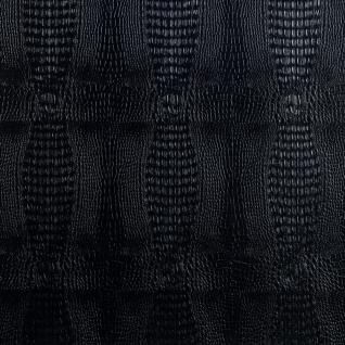 Кожаные панели 2D ЭЛЕГАНТ Crocodile (черный) основание пластик, 1200*1350 мм, на самоклейке