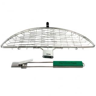 Корзина из нержавеющей стали Big Green Egg Stainless Steel Flexi Basket