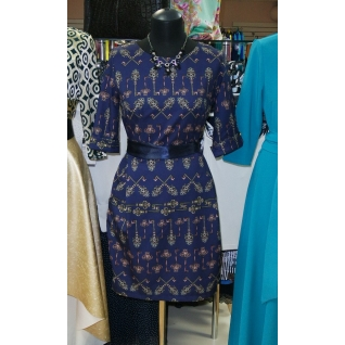 Платье с рукавом 3/4 GM 1282