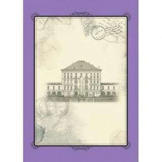 Бизнес-тетрадь Attache Selection,А4,спираль,пласт.обложка,сиреневый,Оldtown