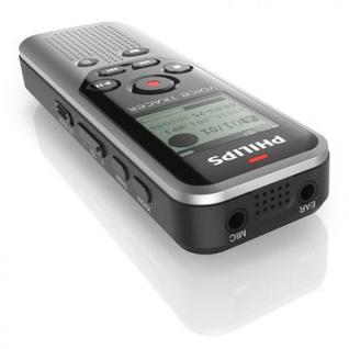 Диктофон цифровой Philips DVT1200 silver black