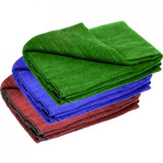 Одеяло 1,5-сп 70% Шуя однотонное(шерсть-70, хим.вол.30)