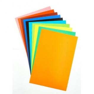 Бумага цветная  10л.10цв,А4 мелован №40,11-410-108