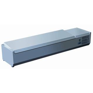 GASTRORAG Витрина холодильная GASTRORAG VRX 1600/330 s/s