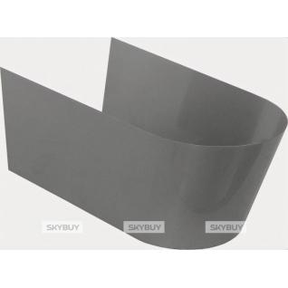 Обшивка металлическая для унитаза и биде Jacob Delafon Stillness E75629-39R серый металл