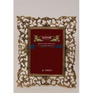"""Фоторамка из бронзы """"Венеция"""" большая, цвет золотой (размер фото 15х20)"""