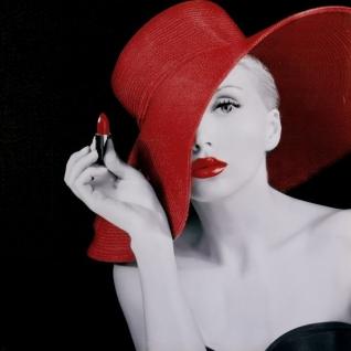 "Декоративное панно ""Девушка в шляпе"""