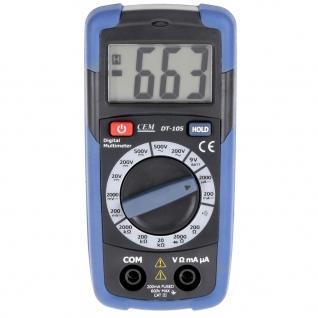 Карманный цифровой мультиметр СЕМ DT-105