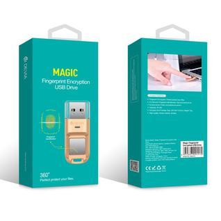 Флеш-накопитель Devia Magic fingerprint encryption USB drive 32GB