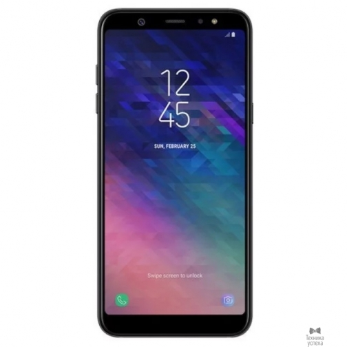 Samsung Samsung Galaxy A6 SM-A600F black (чёрный) DS SM-A600FZKNSER 36971545