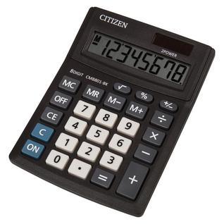 Калькулятор настольный КОМПАКТНЫЙ CITIZEN BusinessL CMB801-BK 8раз. Черн