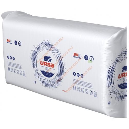 УРСА Гео П-20 утеплитель 1250х610х100мм (12шт=9,15м2=0,915м3) / URSA Geo П-20 теплоизоляция плита 1250х610х100мм (9,15м2=0,915м3) (упак. 12шт.) Урса 36984241