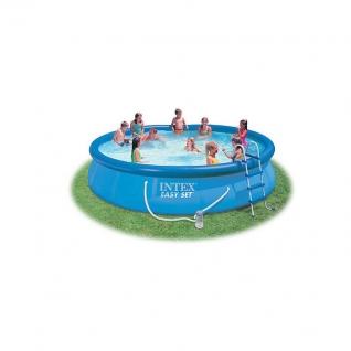 Надувной бассейн Easy Set с фильтрующим насосом, 457 x 91 см Intex