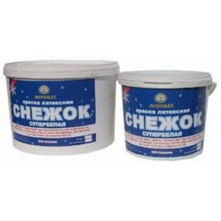 Краска супербелая интерьерная (водно-дисперсионная) Мономах «СНЕЖОК», 95% белизны 7 кг