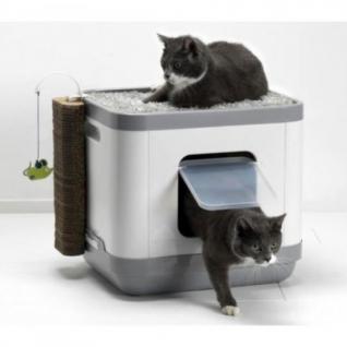Moderna Products Cat Concept 4 в 1 (туалет, лежанка, дразнилка, когтеточка)