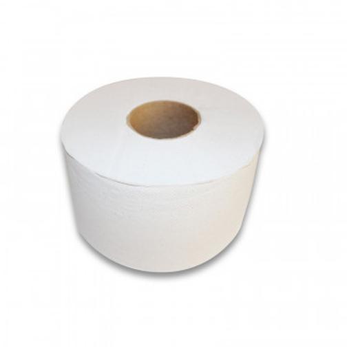 Бумага туалетная д/дисп 1сл бел макул втул 200м 12рул/уп 200W1 42471165