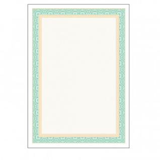 Сертификат-бумага Attache зеленая рамка (А4,115г,уп.25л.)