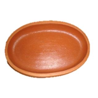 Сковородка Кеци 20 см овальная глазурированная