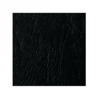 Обложки для переплета картонные GBC черные кожа, А4, 250г/м2, 100шт/уп.