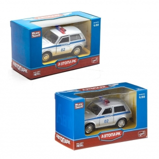 "Масштабная модель автомобиля ""Лада 2121"" - Полиция, 1:50 Play Smart"