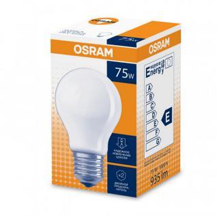 Лампа накаливания 75W 230VE2710X10X1NCEF.CHOSRAM груша матовая