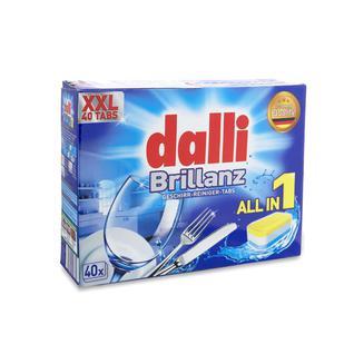 Таблетки для посудомоечной машины DALLI 40 шт Все в одном