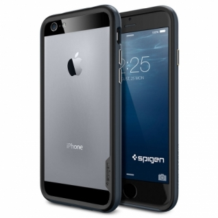 Бампер для iPhone 6 Neo Hybrid EX цвет Metal Slate (SGP11023)