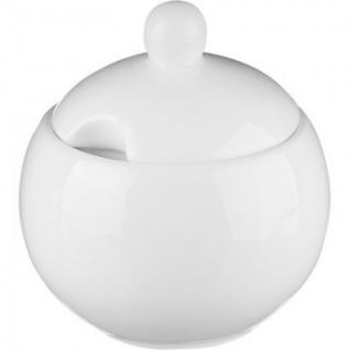 Сахарница Wilmax белая, фарфоровая,325 мл WL-995001