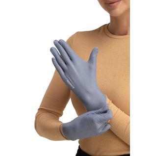 Многоразовые защитные перчатки взрослые Mujjo Grey M/L Routemark