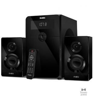 Sven SVEN AC MS-2250, черный (80Вт, FM-тюнер, USB/SD, дисплей, ПДУ, Bluetooth)