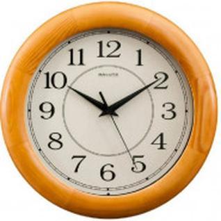 Часы настенные Круг, дерево, ольха, 31 см, ДС - ББ27 - 014.2