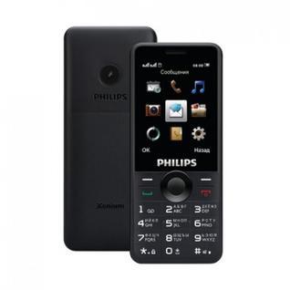Мобильный телефон Philips E168 Xenium черный