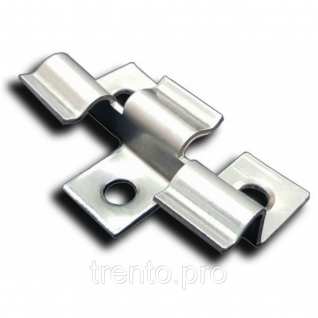 Металлический кляймер Hilst Fix prof 3d 40*24*12 мм Gardeck