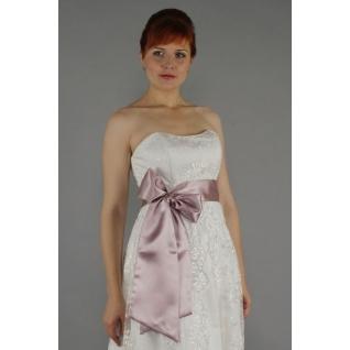 Пояс для платья (65мм, 2,0 м), брусничный