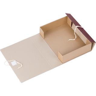Короб архивный с завязками 100мм Attache Economy,БВ,клапанмикрогофрокартон