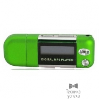 Perfeo Perfeo цифровой аудио плеер Music Strong 8 Gb, зелёный (VI-M010-8GB Green)