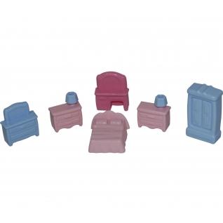 Набор мебели для кукол №1 (6 элементов в пакете) Полесье