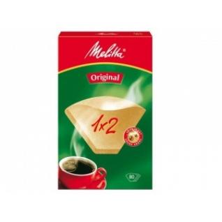 Фильтры бумажные Melitta для заваривания кофе 1х2/80,кор. (0100762)