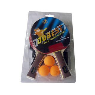 Набор для н/т Dobest Br18 1 звезда (2 ракетки + 3 мяча + сетка + крепеж)