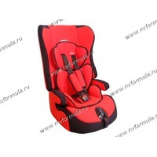 Кресло детское SIGER Прайм группа 1,2,3 от 9-36кг красное
