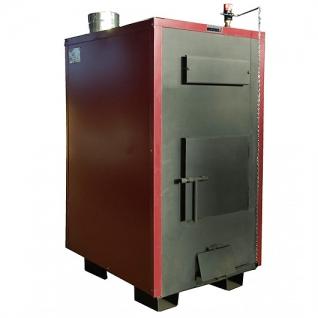 Буржуй-К Т-150А – твердотопливный пиролизный котел с автоматическим регулятором тяги мощностью 150 кВт