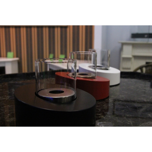 Биокамин Glass Ovale Nero 853126 3