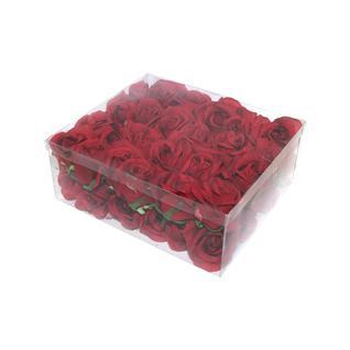 Роза бутон FIEBIGER FLORISTIK 6см красный 1 упак