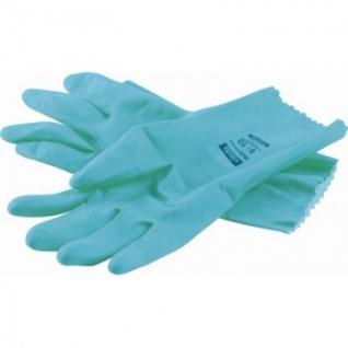Перчатки резиновые Vileda Profes латекс хлопк.напыл зеленый р-р L 100757