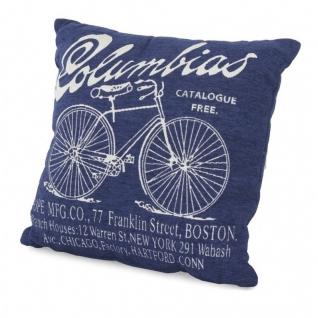 Подушка декоративная Columbias синяя